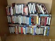 Видеокассеты с фильмами и мультиками