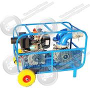 Мотопомпа Танкер 049 для перекачивания дизельного топлива,  бензина