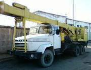 буровую установку БКМ-1501 на шасси КРАЗ-250